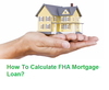 Fha Mortgage Loan Calculator Image
